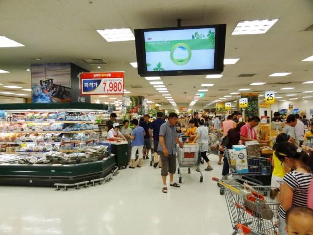 E-Martに行ってみた 食料品売り場