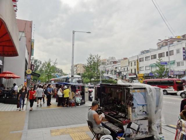 梨泰院(イテウォン) 町並み
