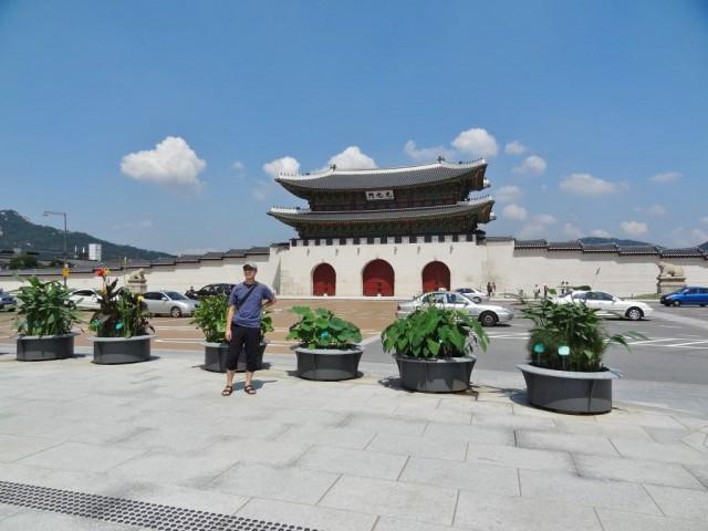 韓国 光化門 自分も写ってる