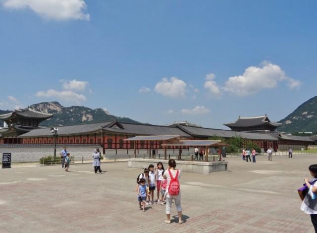 韓国 光化門  景福宮