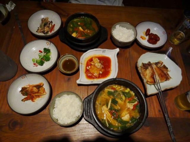 韓国 仁寺洞 観光 食事