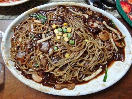 韓国の出前 ジャージャー麺
