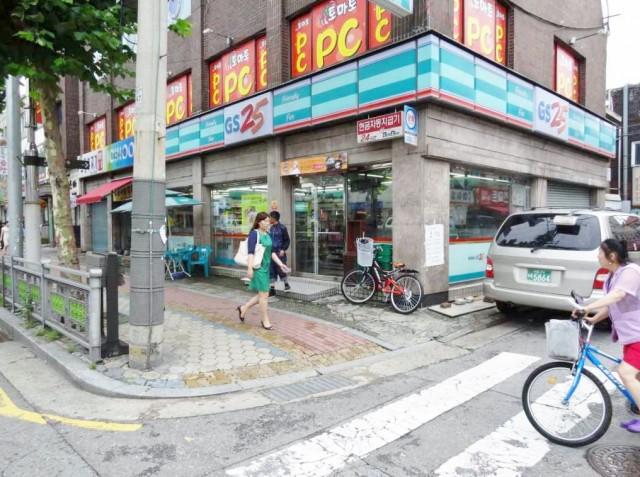 韓国のコンビニ