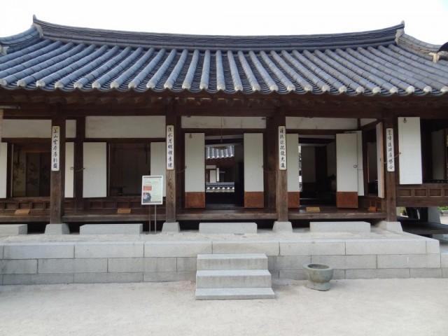 伝統家屋 両班(ヤンバン)貴族の家