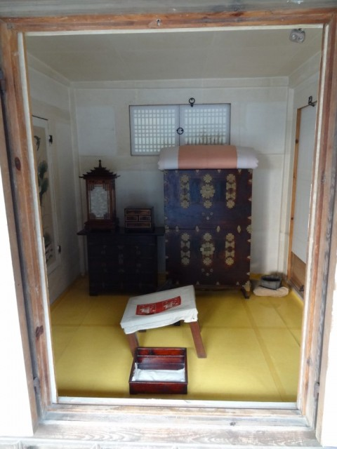 伝統家屋 両班(ヤンバン)部屋