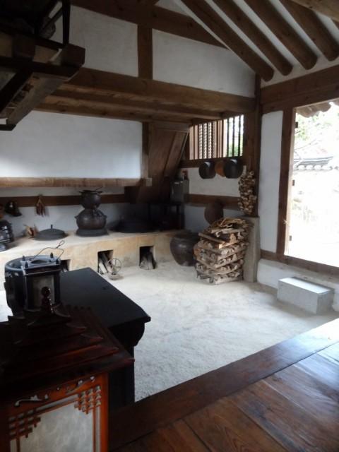 伝統家屋 両班(ヤンバン)囲炉裏