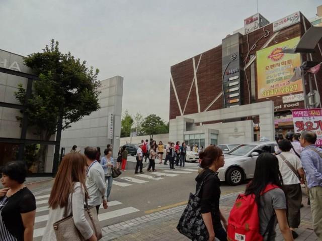 梨花(イファ)女子大学の入り口
