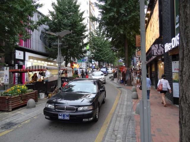 新村(シンチョン)の街 ブラブラ