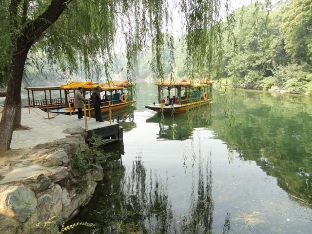 頤和園 后湖 船