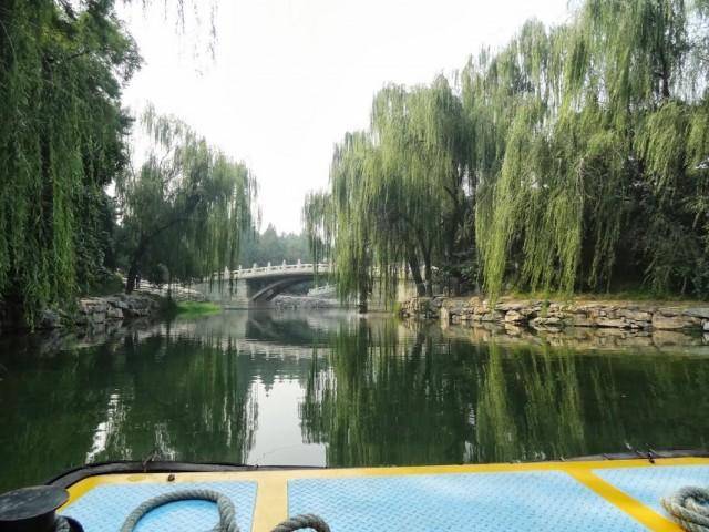 頤和園 后湖 船 小さな船