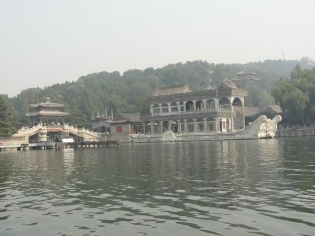 昆明湖 石舫