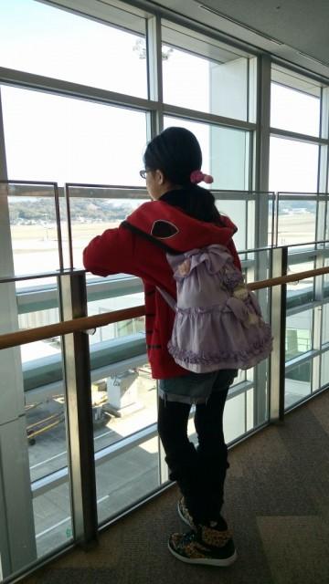 子供のうちから海外に旅行できて、羨ましい♥