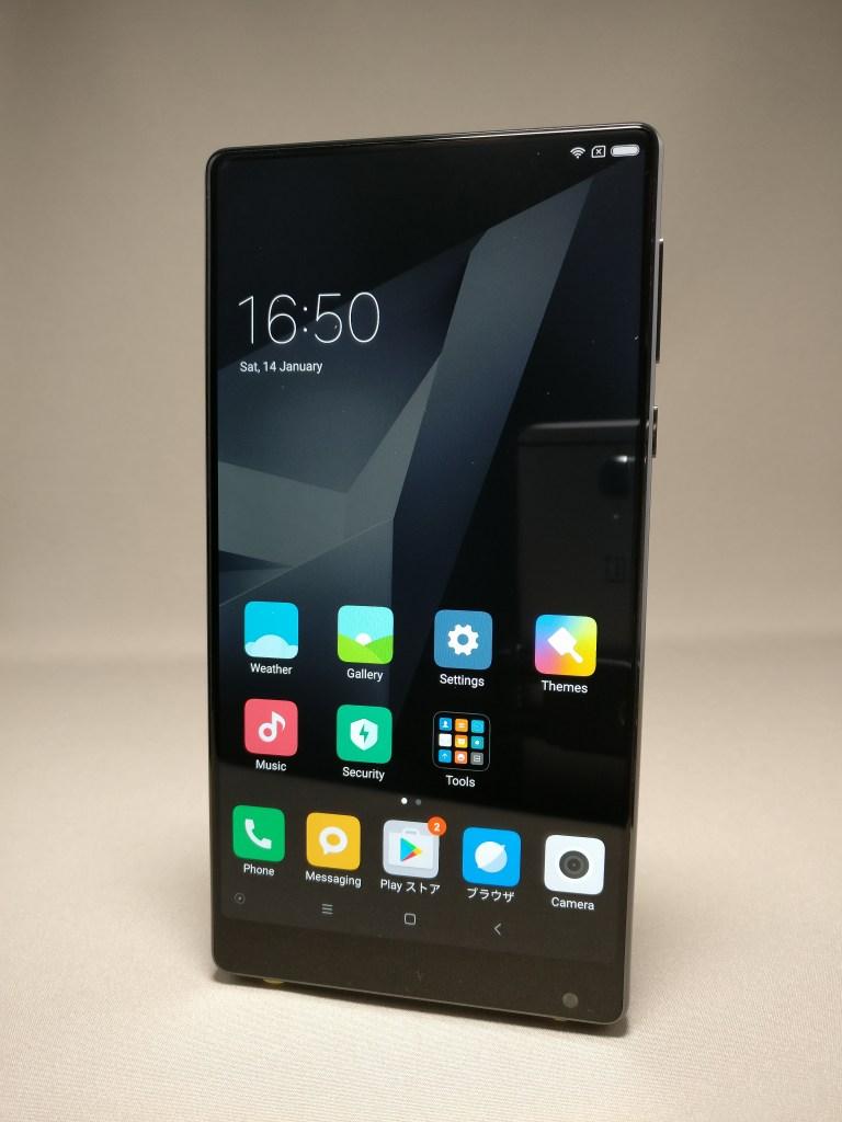 【小米フラッグシップスマホ】Xiaomi Mi MIX 6G/256GB 内部調査 レビュー