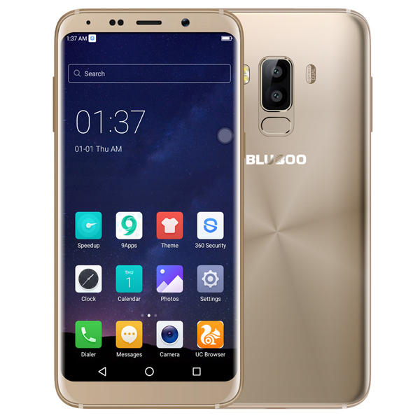 BLUBOO S8 MTK6750T 1.5GHz 8コア GOLD(ゴールド)