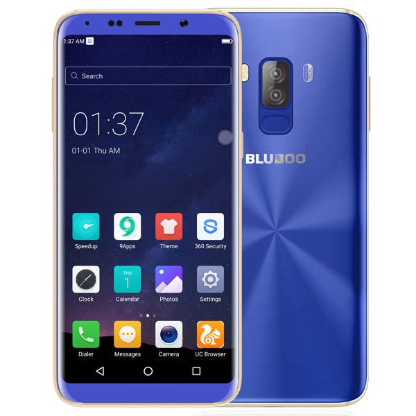 BLUBOO S8 MTK6750T 1.5GHz 8コア BLUE(ブルー)