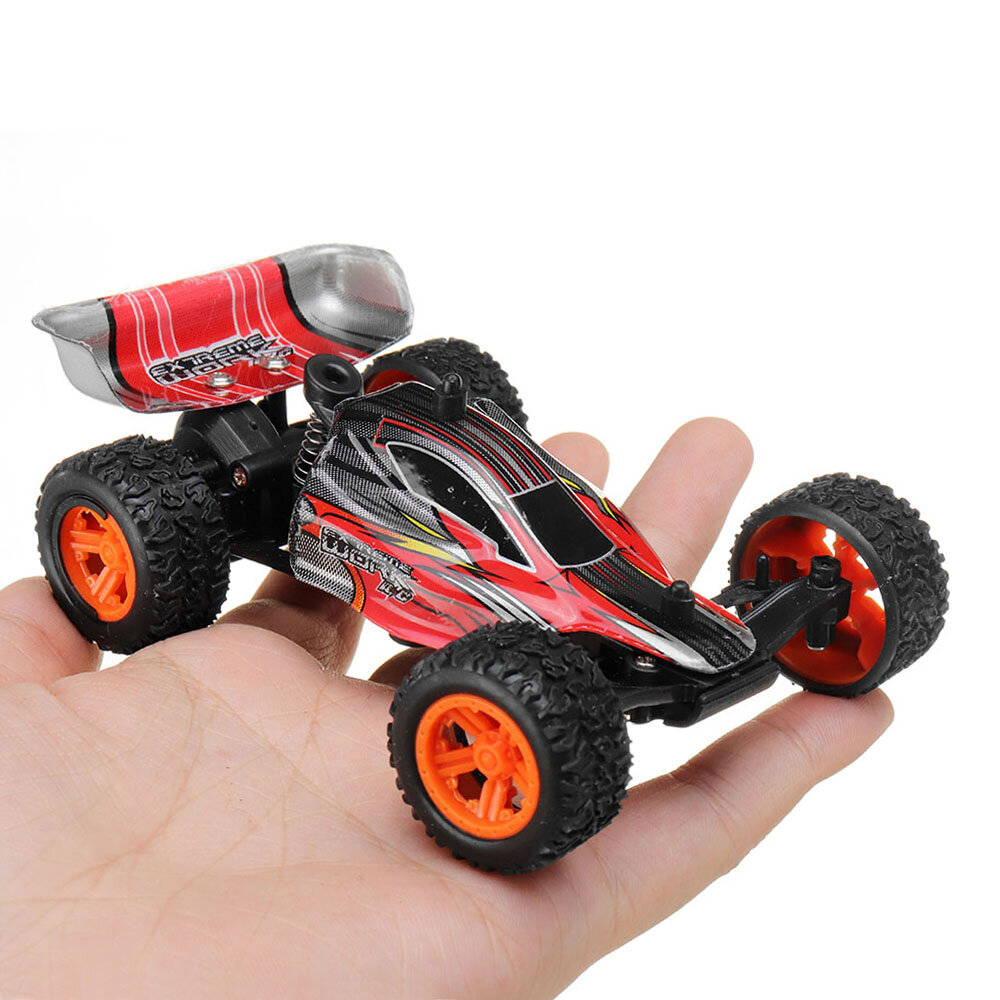 Banggood 1/32 2.4G Racing Multilayer in Parallel Operate USB Charging Edition Formula RC Car Indoor Toys - Blue