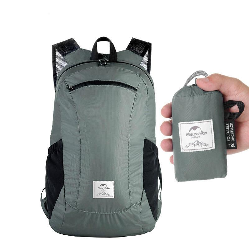 Naturehike NH17A012-B 18L Camping Hiking Backpack Ultralight Waterproof Folding Travel Outdoor Bag