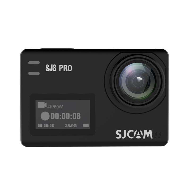 SJCAM SJ8 PRO 4K 60fps Action Camera Dual Screen Sport Camera DV EIS WiFi Ambarella H22 Chipset Small Box - Rose Gold
