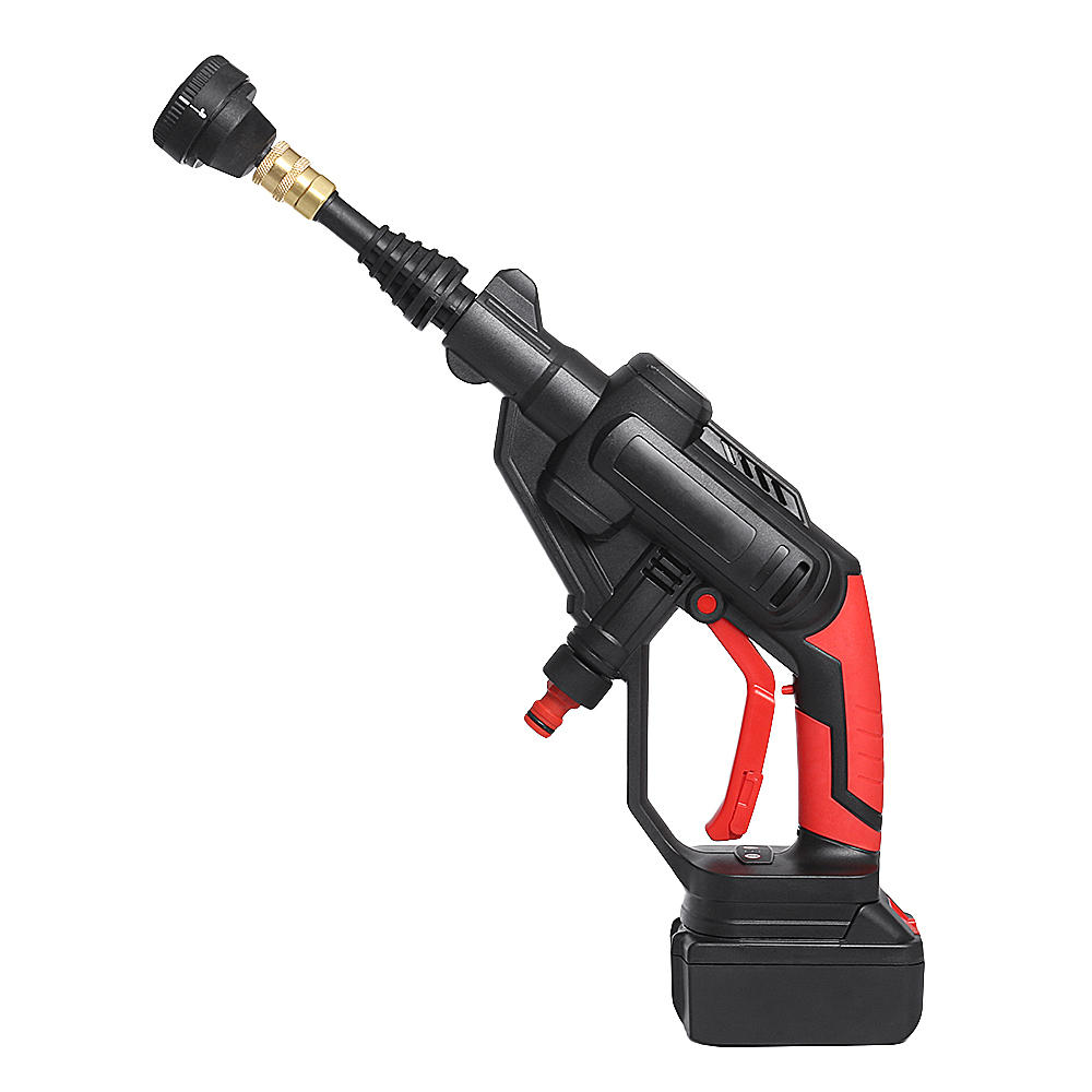 21V Multifunctional Cordless Pressure Cleaner Washer Sprayer Water Hose Nozzle Pump with Battery