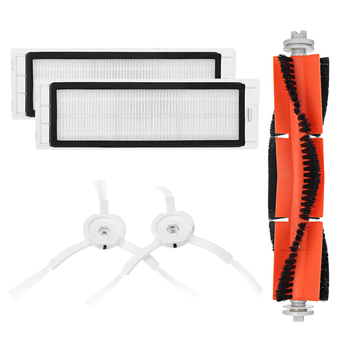 Main Brush Filters Side Brushes Accessories For XIAOMI MI Robot Roborock S5 S6 Vacuum Home Applicance Part Non-original