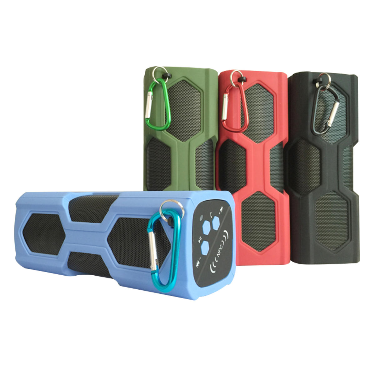 Elegiant IPX4 Waterproof Shockproof bluetooth Speaker Portable Bass Subwoofer