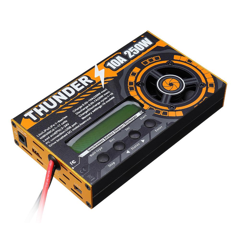 HOTA Thunder 6250 250W 10A DC Balance Charger Discharger