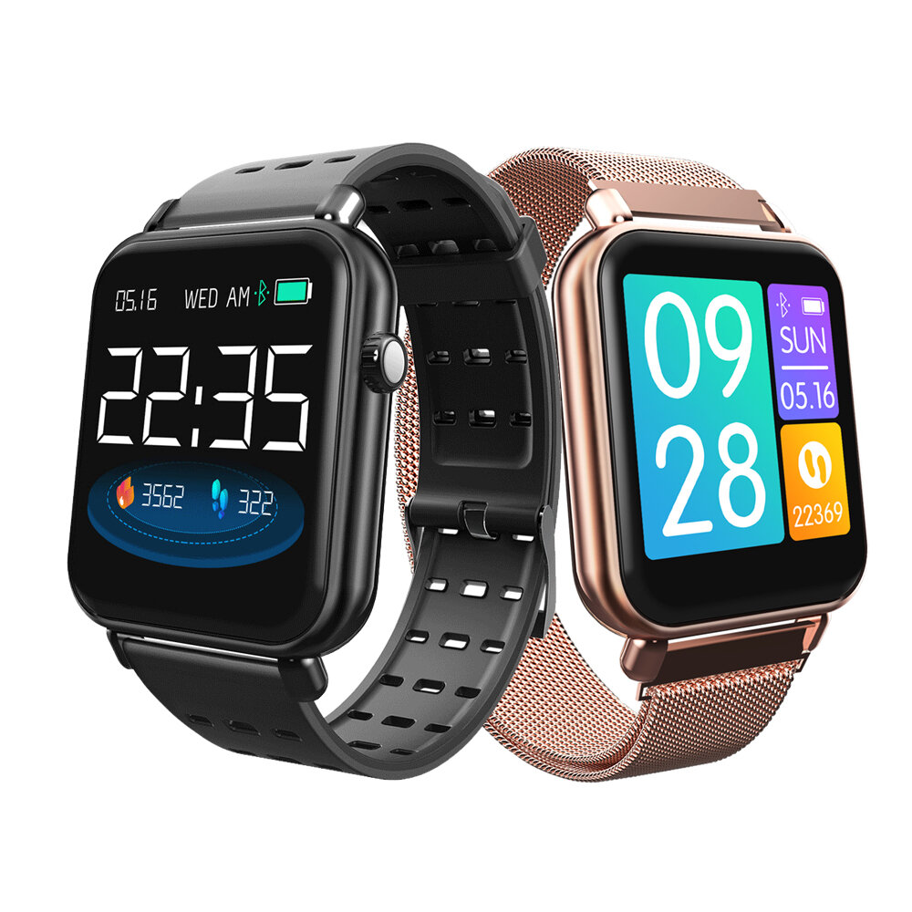 Bakeey Y6 Pro Music Control Weather Push Fun Dynamic Icon Smart Watch Heart Rate Blood Pressure Monitor Stopwatch Smart Watch