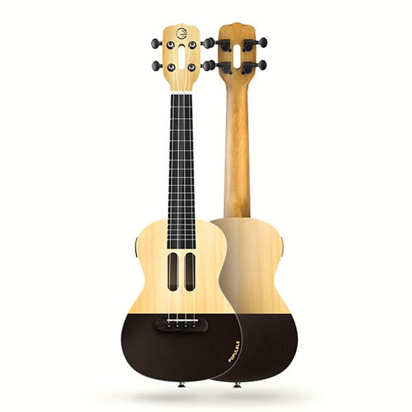 17% OFF for Populele U1 23 Inch 4 String Smart Ukulele with APP Controlled LED Light Bluetooth Connect