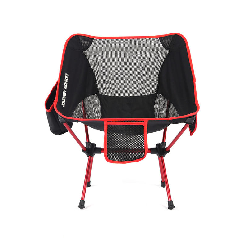 IPRee® Outdoor Portable Folding Chair Ultralight Aluminum Alloy Stool Max Load 120kg Camping Picnic