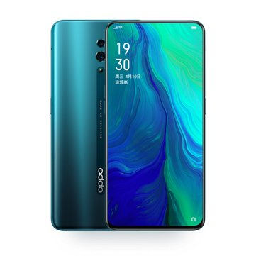 OPPO Reno 10x Zoom 6.6 Inch FHD+ AMOLED NFC 4065mAh Android 9.0 6GB 128GB Snapdragon 855 Octa Core 4G Smartphone - Green Chinese Version