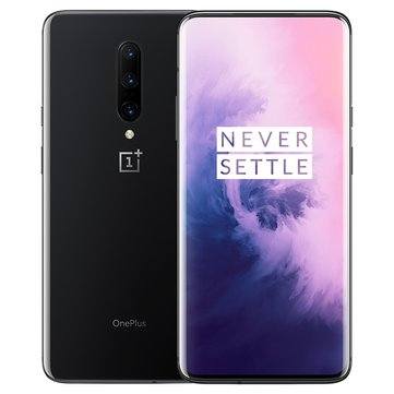 OnePlus 7 Pro Global Rom 6.67 Inch QHD+ AMOLED 90Hz HDR10+ 4000mAh NFC 48MP Rear Camera 8GB 256GB UFS 3.0 Snapdragon 855 4G Smartphone - Mirror Gray Global Rom