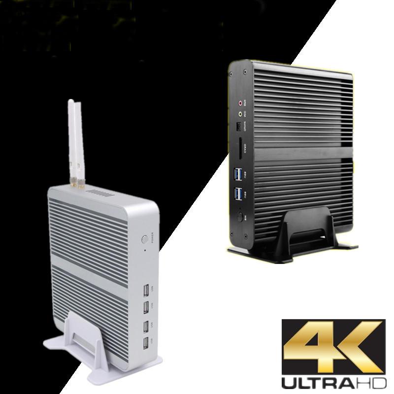 Eglobal V7 Mini PC I7-7560U Win10 Quad Core Intel HD Graphics 620 32GB+512GB/32GB+1T 2*DDR4 Msata+M.2 SSD Micro PC Fanless HTPC Nuc VGA HDMI