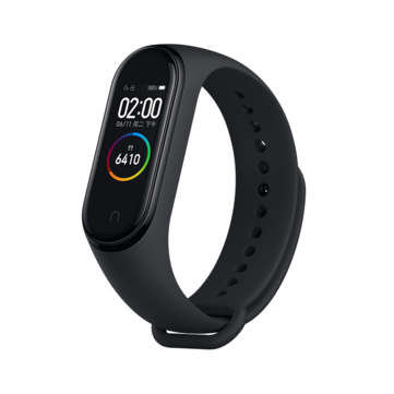 Original Xiaomi Mi band 4 AMOLED Color Screen Wristband bluetooth 5.0 5ATM Long Standby Smart Watch International Version - Black