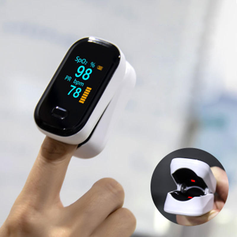 BOXYM oFit-2 Finger-Clamp Pulse Blood Oximeter Monitor