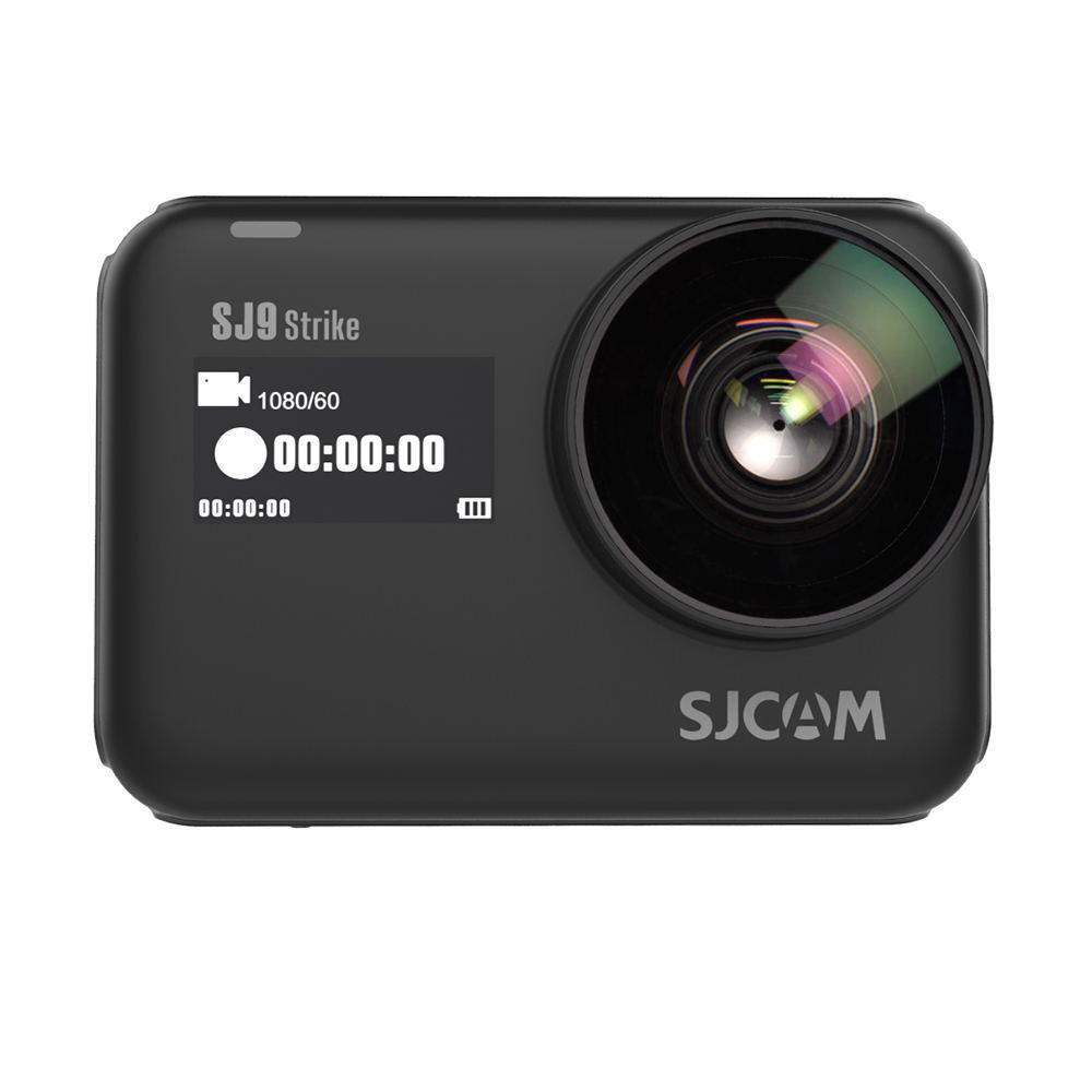 SJCAM SJ9 Strik e 4K WiFi Touch Live Streaming Wireless Charging Waterproof Body 1300mAh Vlog Sport Camera