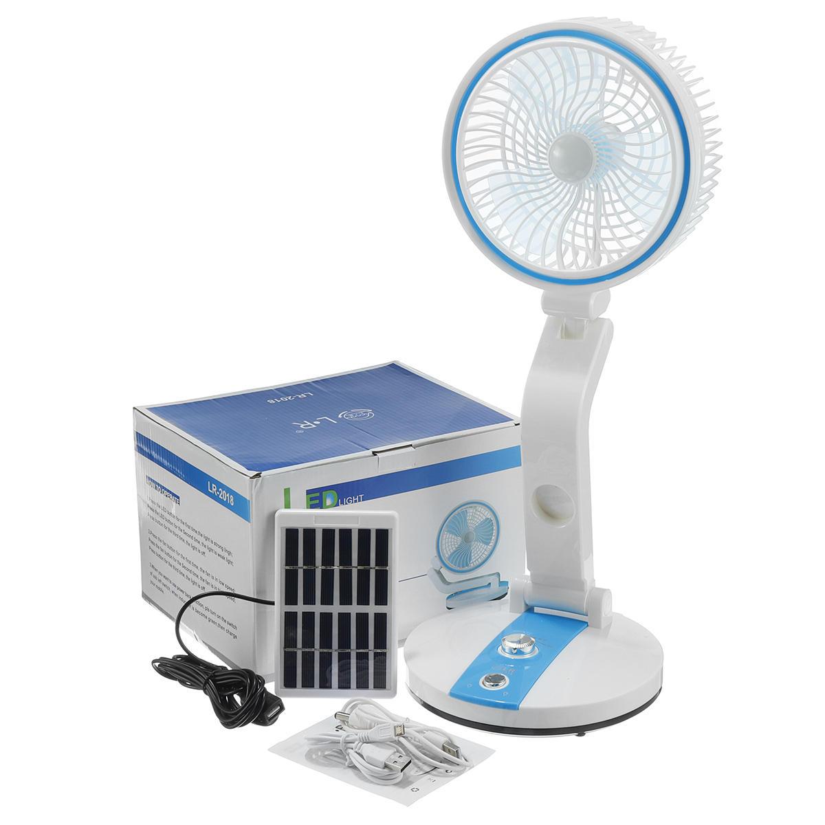 Mini Solar Power Panel Fan 4W Portable Fan Desk Cooling USB Cell Cooler Outdoor