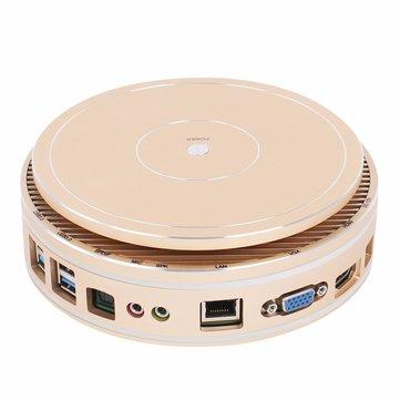 Helor X36 Mini PC Intel Core i7-5550U 4GB RAM 120GB SSD Quad Core 2GHz Windows 10 VGA HDMI SPDIF 300M WiFi PC