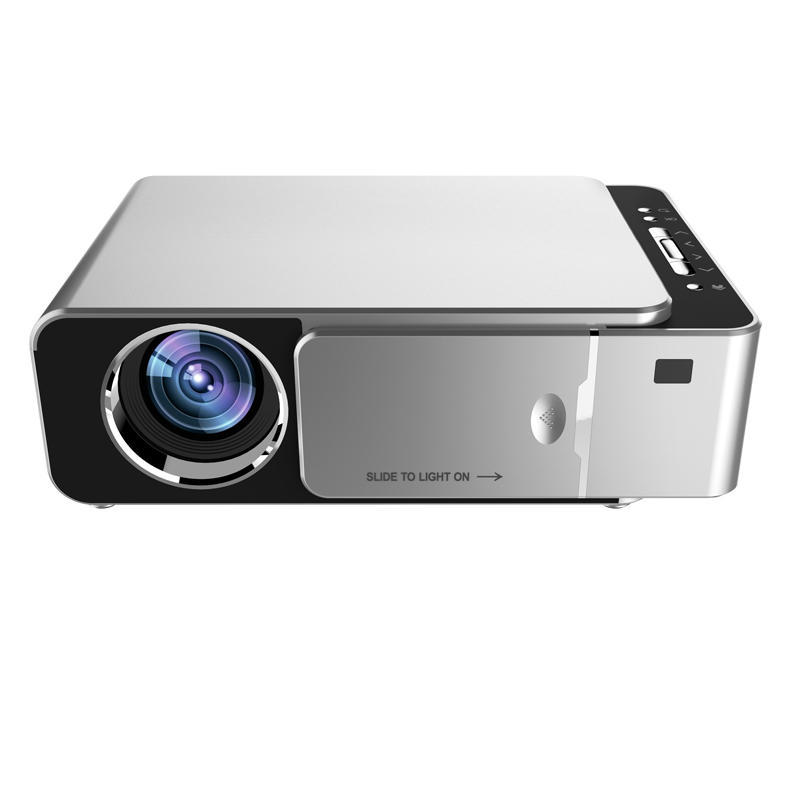 TOPRECIS T6 LCD Projector 1280x720P HD 3500 Lumens Mini LED 3D Projector Home Theater Beamer bluetooth WIFI USB HDMI VGA 1+16G Android Version