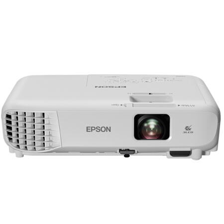 E pson CB-X05 XGA 3LCD Projector 3300 Lumens 300-Inch Display 1024X768dpi Multiple Interfaces Home Office Theater Projector With Remote Control