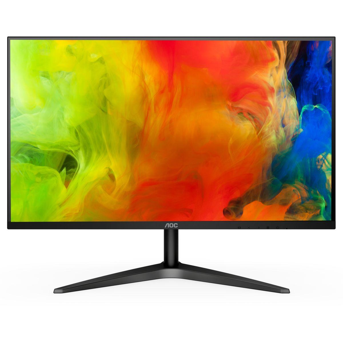 AOC 24B1XH Flat Office Monitor 23.8 Inch IPS Panel 178 ° Super Wide Viewing Angle LED Backlight Technology Multi-Interface Display From XIAOMO YOUPIN