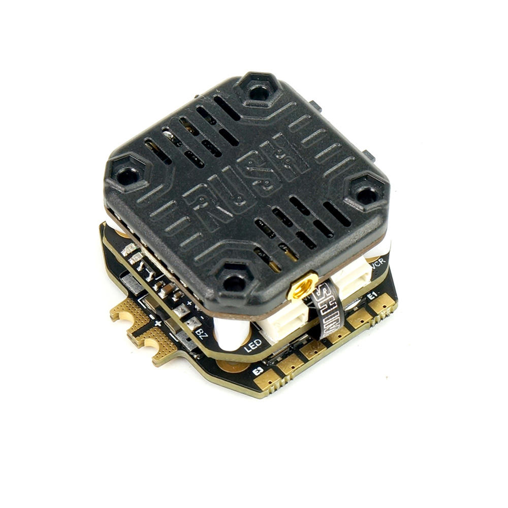 RUSH MINI TANK STACK RUSH CORE F7 & MATRIX 32bit 30A ESC & MINI VTX 25-800MW For FPV Racing Drone 20*20mm