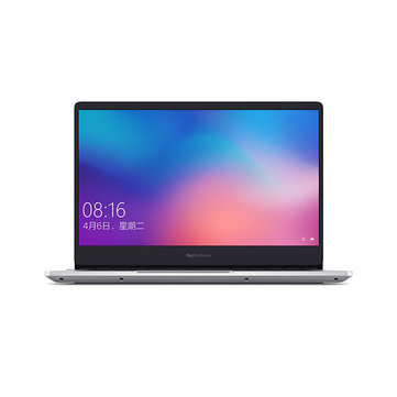 Xiaomi RedmiBook Laptop 14.0 inch AMD R5-3500U Radeon Vega 8 Graphics 8GB RAM DDR4 512GB SSD Notebook - Silver
