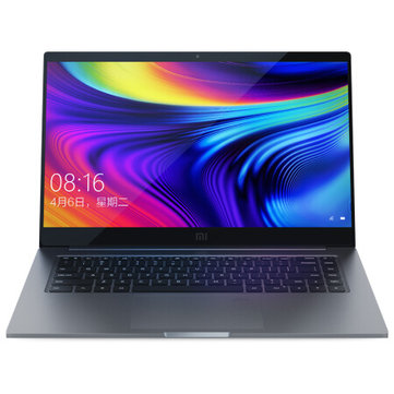 Xiaomi Mi Laptop Pro 15.6 inch Intel Core i7-10510U NVIDIA GeForce MX250 16GB DDR4 RAM 1TB SSD 100% sRGB Fingerprint Backlit Notebook - Gray