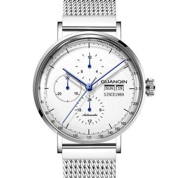 GUANQIN 16116 Automatic Mechanical Watch