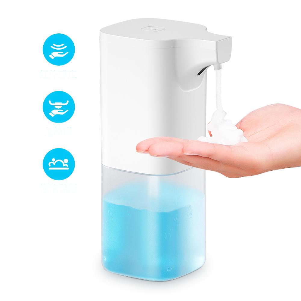 350ml Automatic Soap Dispenser IR Sensor Foam Liquid Dispenser Waterproof Hand Washer Soap Dispenser Pump