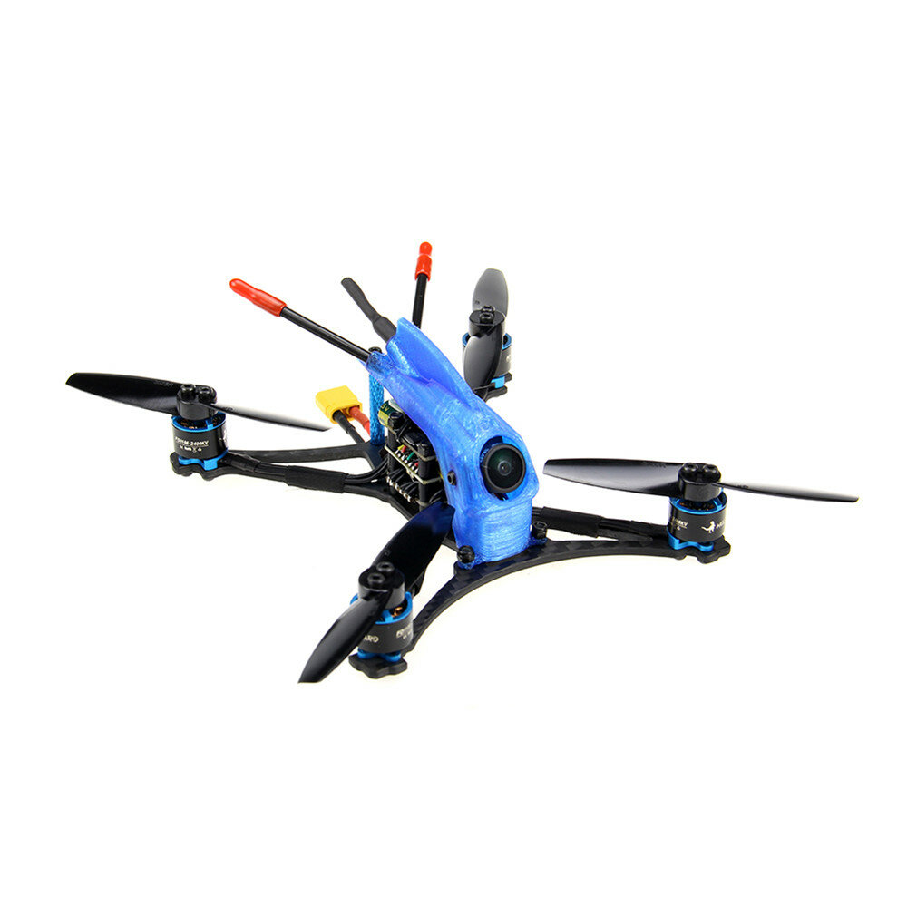 HGLRC Parrot132 3inch Toothpick FPV Racing Drone 5-6S PNP/BNF F411 Flight Control 13A 4in1 ESC 1106 Motor