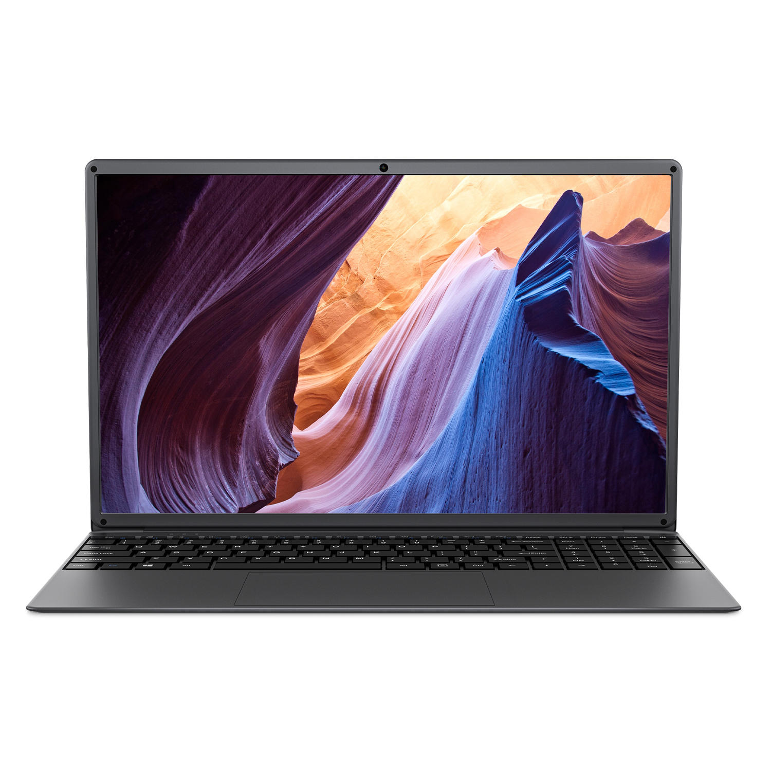 BMAX S15 Laptop 15.6 inch Intel Gemini Lake N4100 Intel UHD Graphics 600 8GB LPDDR4 RAM 128GB SSD 178° Viewing Angle Narrow Bezel Notebook