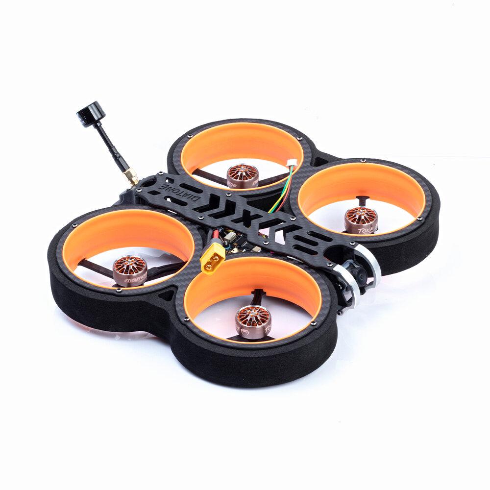 DIATONE MXC TAYCAN 349/369 3 Inch 158mm 4S/6S Cinewhoop FPV Racing Drone BNF Frsky R-XSR RUNCAM NANO2
