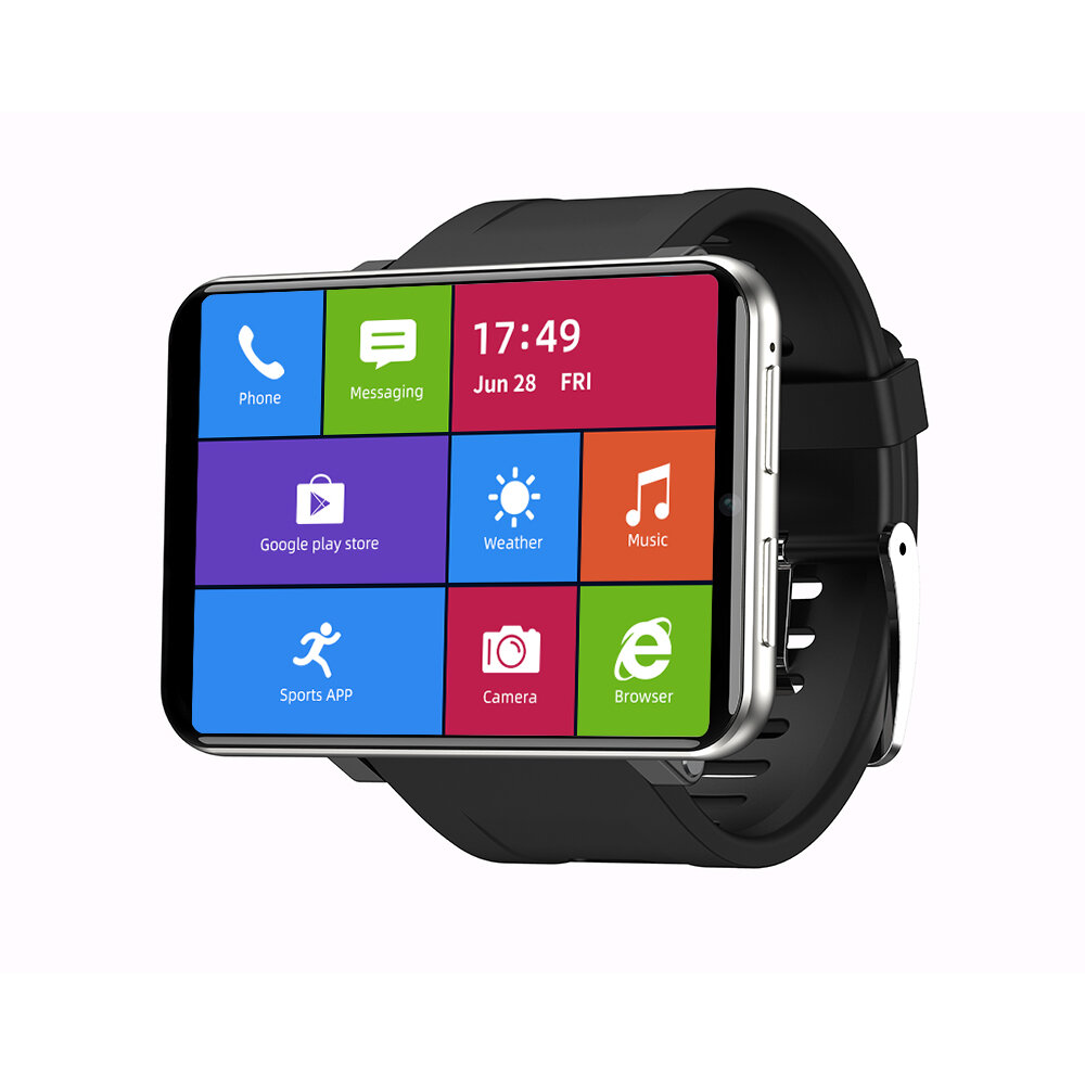 [Face Unlock]TICWRIS MAX 2.86 Inch HD Screen Smart Watch 3G+32G 4G-LTE 2880mAh Battery Capacity 8MP Camera GPS Watch Phone