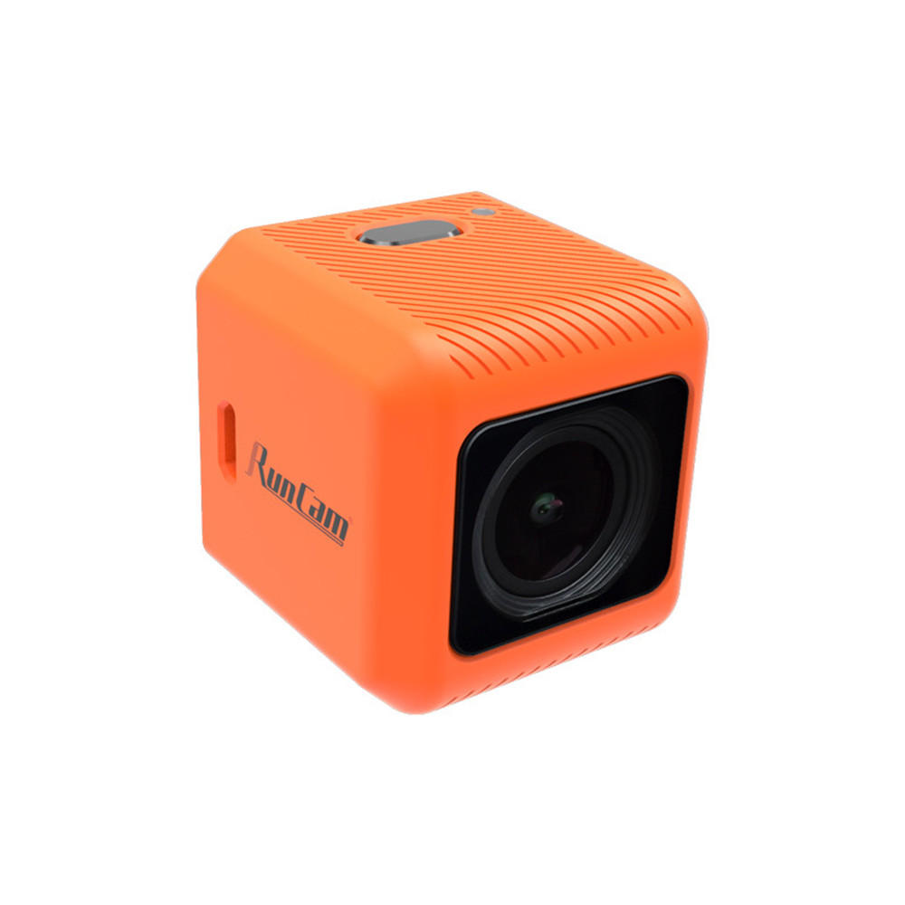 RunCam 5 Orange 12MP 4:3 145°FOV 56g Ultra-light 4K HD FPV Camera for RC Drone